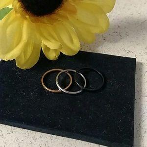 Brand New! women's titanium rings